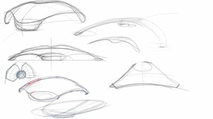Gofar ray early sketches