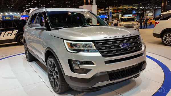 Best car #6: 2017 Ford Explorer