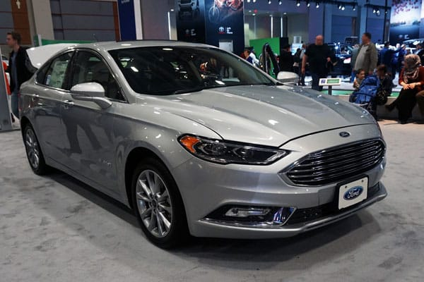 Best car #4: 2017 Ford Fusion