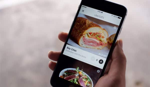 UberEATS available on iPhone. Earn more as an Uber driver!